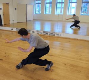 Ollie Smith training Xingyi Quan Dragon