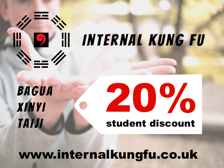 Internal Kung FU Student Discount
